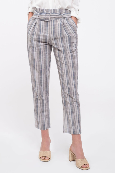 Acquisition Belted Striped Pant