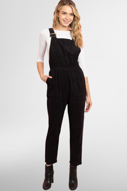 Design Thinking Jumpsuit in Black