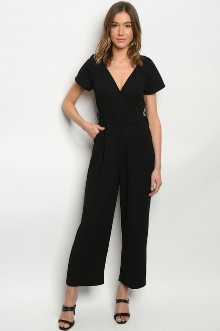 Trade Secret Jumpsuit in Black