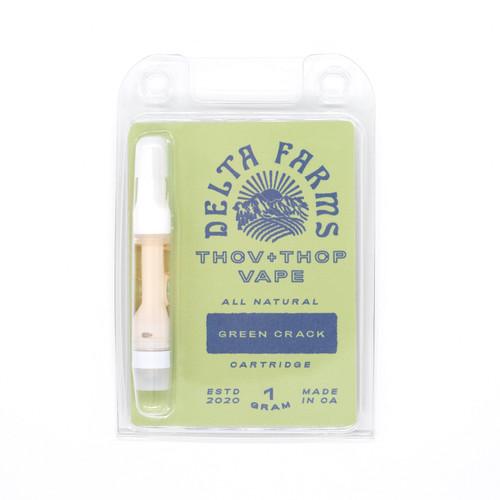 THCV + THCP + Delta-8 THC Vape Cartridge - Green Crack - 1g