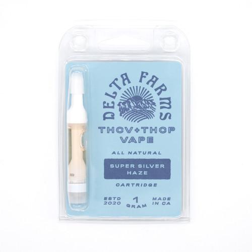 Super Silver Haze THCP THCV Vape Cartridge
