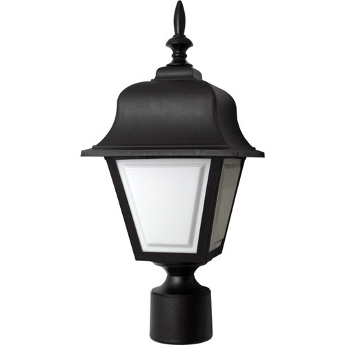 Black Plastic Coach Light