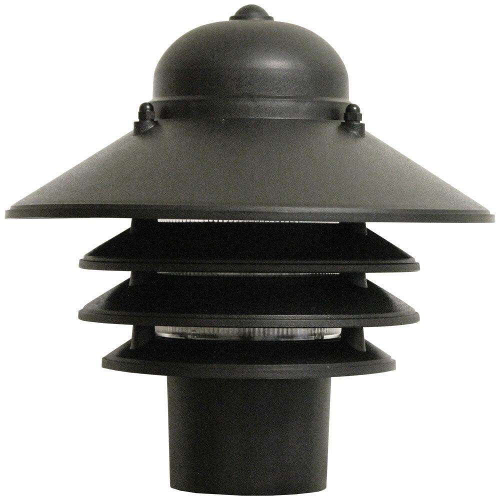 black pagoda light for pole