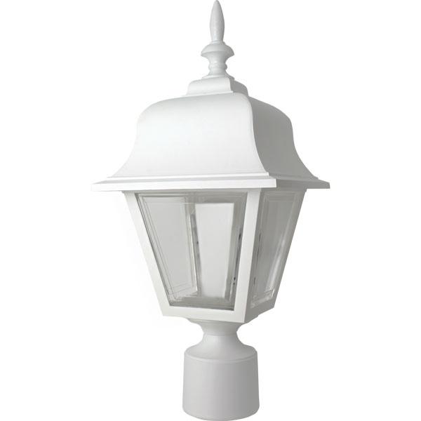 White yard light