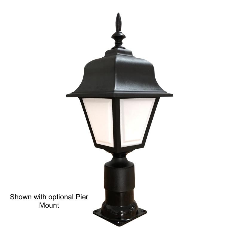 Coach Pier Mount Light
