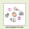 FCL Designs Baby Girl Floating Charm Combination for Lockets