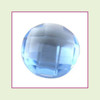 CZR09b - September Light Sapphire Round Crystal Birthstone – 5mm – For Floating Lockets