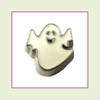 Ghost #1 Cute (Silver Base) Floating Charm
