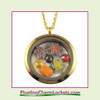 FCL Designs® Fall Theme Floating Charm Locket