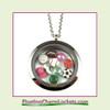 FCL Designs® Sports Theme Floating Charm Locket