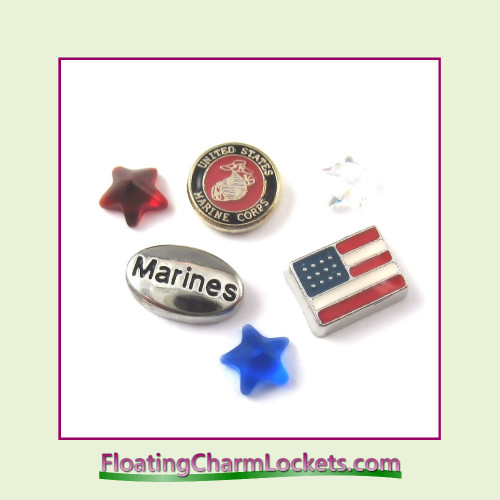 FCL Designs Marine's Floating Charm Combination for Lockets