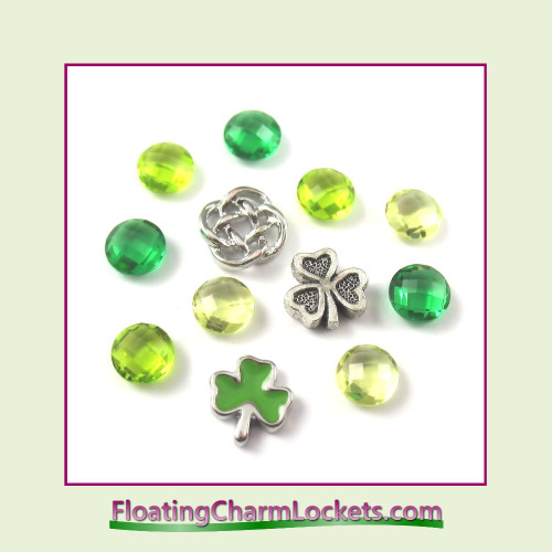 FCL Designs Celtic Floating Charm Combination for Lockets