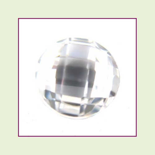 CZR04 - April Diamond Round Crystal Birthstone – 5mm – For Floating Lockets