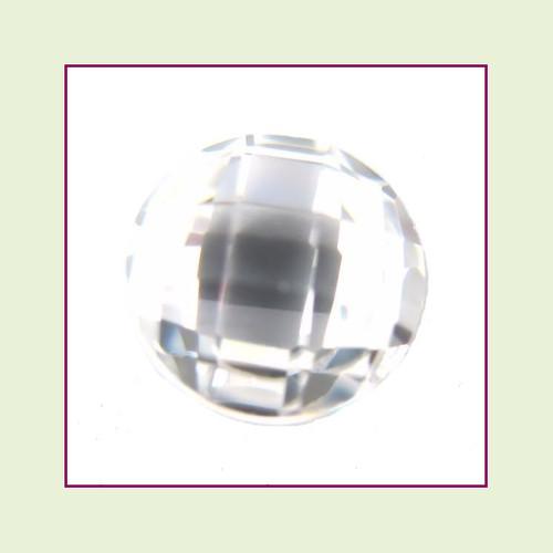 CZR04 - April Diamond Round Crystal Birthstone – 5mm – For Floating Lockets