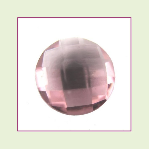 CZR06a - June Alexandrite Round Crystal Birthstone – 5mm – For Floating Lockets