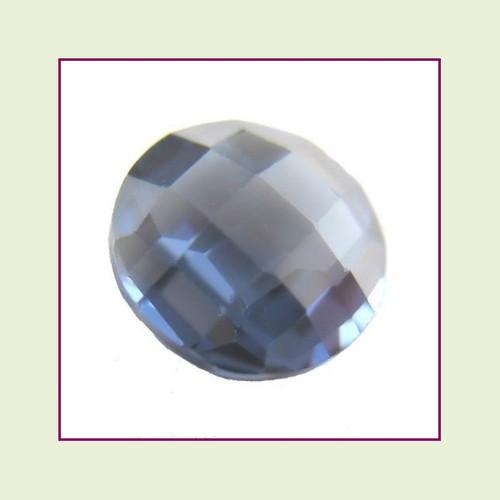 CZR12c - December Tanzanite Round Crystal Birthstone – 5mm – For Floating Lockets