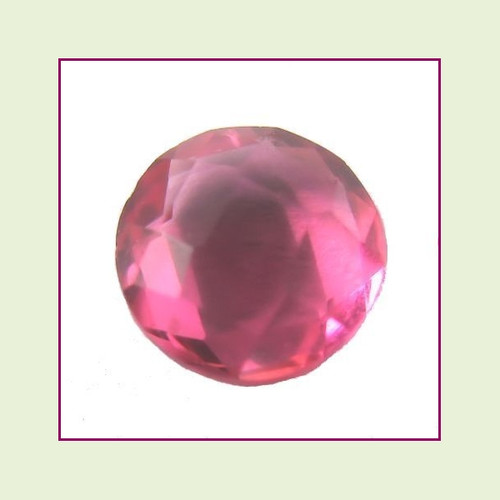 CZZ200 - 5mm Round Crystal - Berry Pink for Floating Lockets