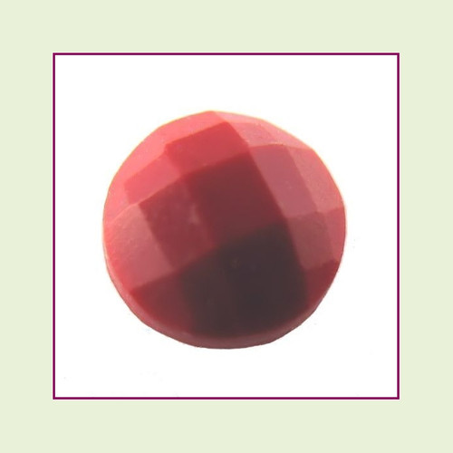 CZZ202 - 5mm Round Crystal - Red Turquoise for Floating Lockets