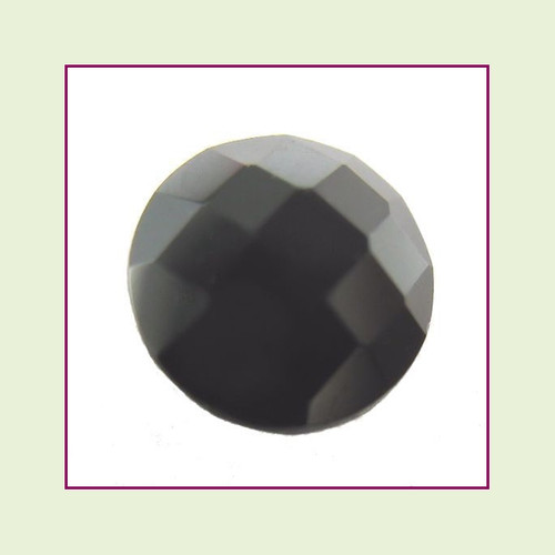 CZZ206 - 5mm Round Crystal - Black for Floating Lockets
