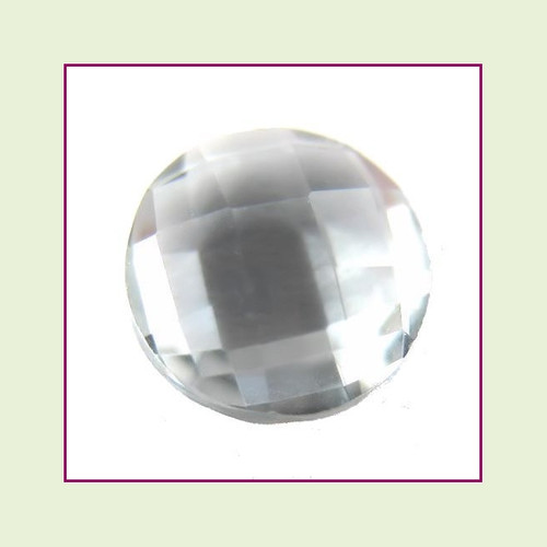 CZZ209 - 5mm Round Crystal - Light Gray