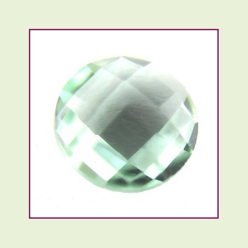CZZ212 - 5mm Round Crystal - Seafoam Green