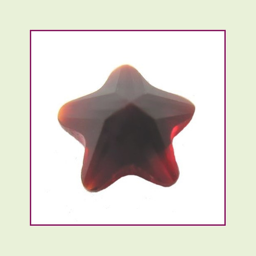 5mm Star Crystal - Red for Floating Lockets