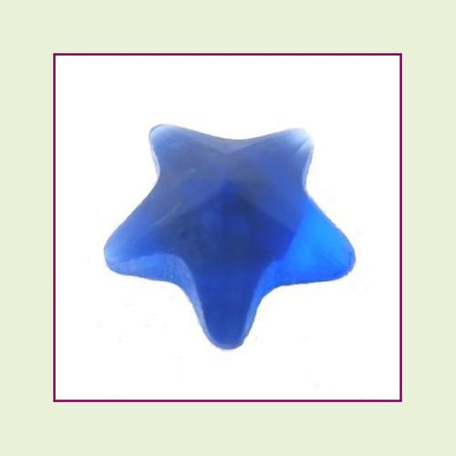 CZZ302 - 5mm Star Crystal - Blue for Floating Lockets