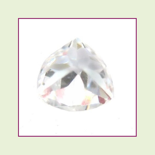 CZZ400 - 5mm Trillion Cut Crystal - Clear
