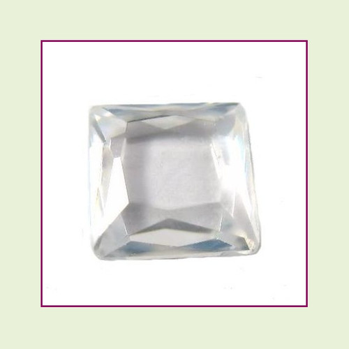 CZZ402 - 5mm Square Crystal - Clear