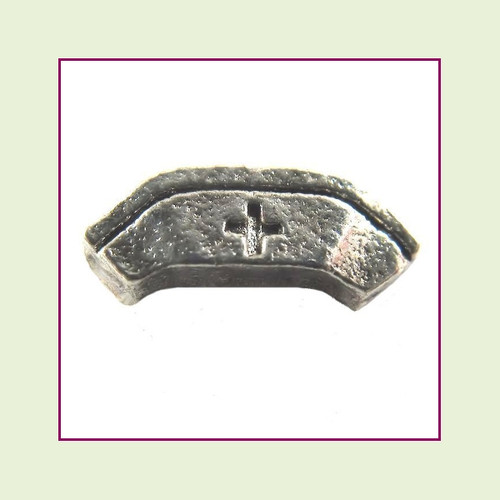 Nurse Cap Silver Floating Charm