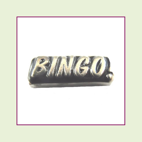 Bingo! (Silver Base) Floating Charm