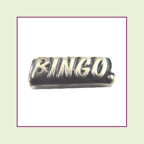 Bingo! (Silver Base) Floating Charm