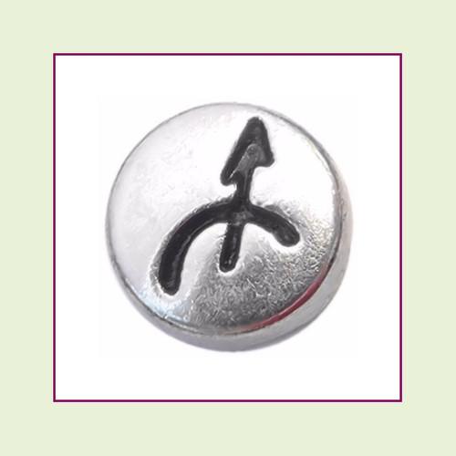 Zodiac Sagittarius (Silver Base) Floating Charm