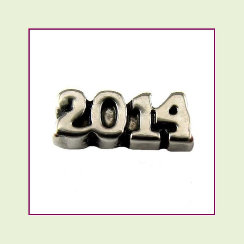 2014 Silver Floating Charm