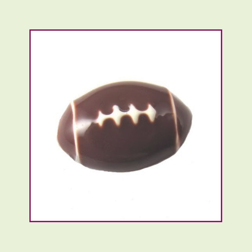 Football (3D Silver Base) Floating Charm