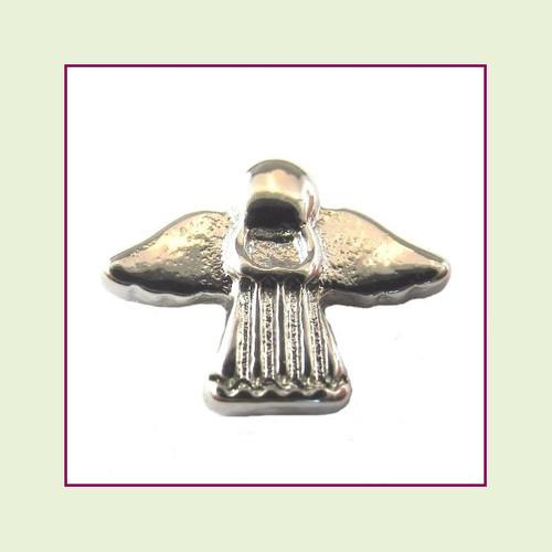 Angel #2 Silver Floating Charm