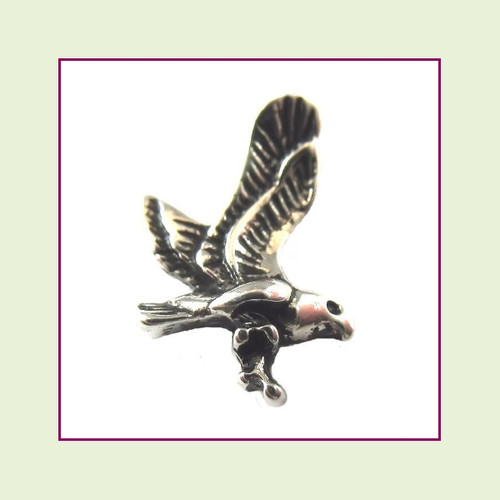 Eagle Silver Floating Charm
