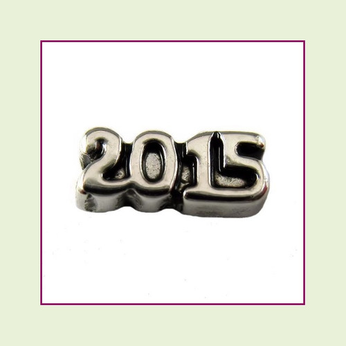 Clearance 2015 Silver Floating Charm