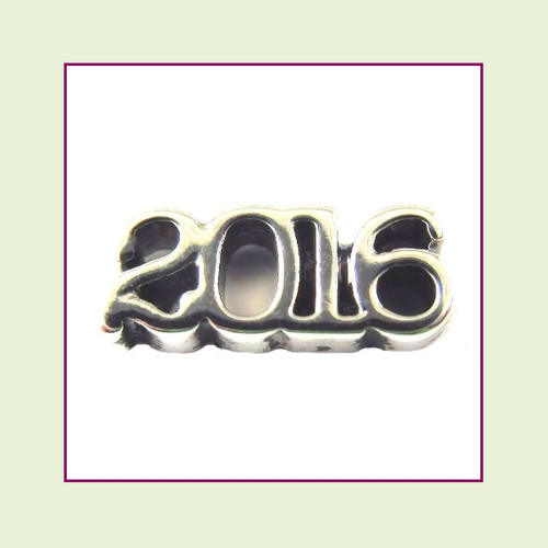 2016 Silver Floating Charm