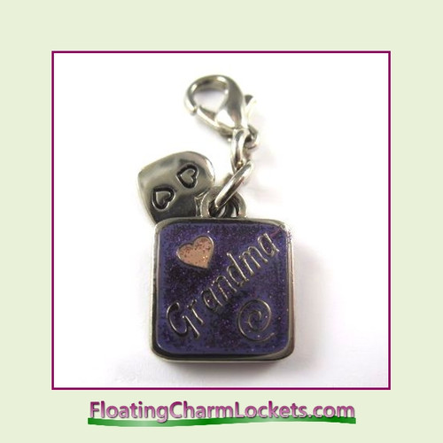 Mini Clip-On Charm:  Grandma 11x11mm