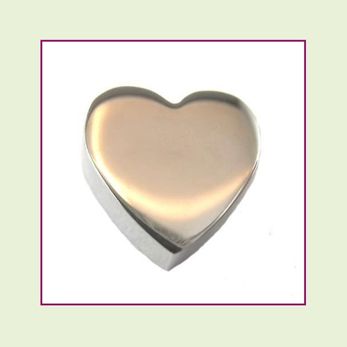 Heart (Silver) Stainless Steel Floating Charm