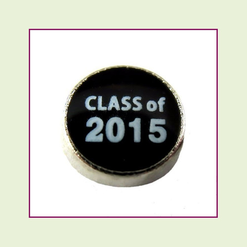 Clearance Class of 2015 (Silver Base) Floating Charm