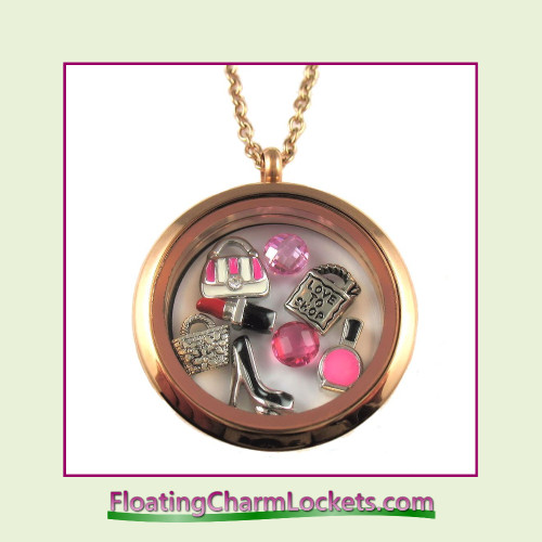 FCL Designs® Fashion Theme Floating Charm Locket