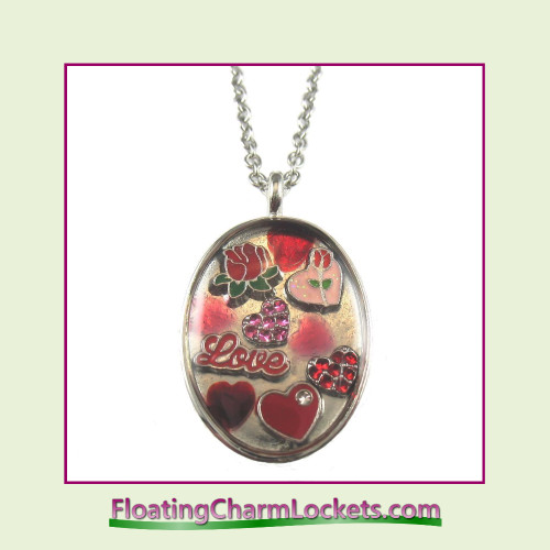 FCL Designs Limited Edition Handmade Valentine's Day Pendant