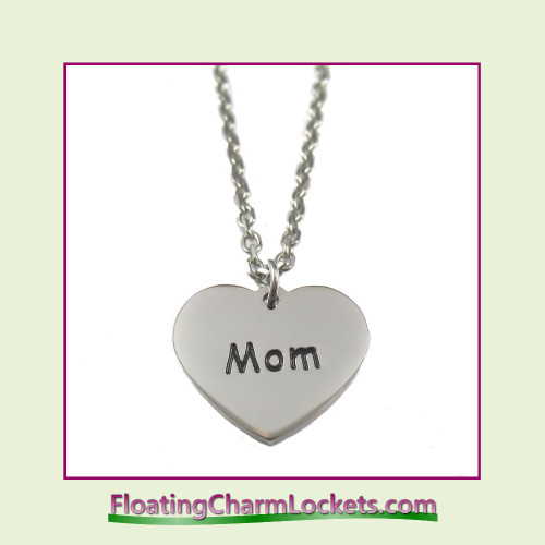 Stainless Steel Necklace - Mom