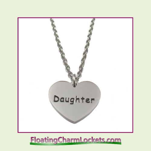 Stainless Steel Necklace - Daughter