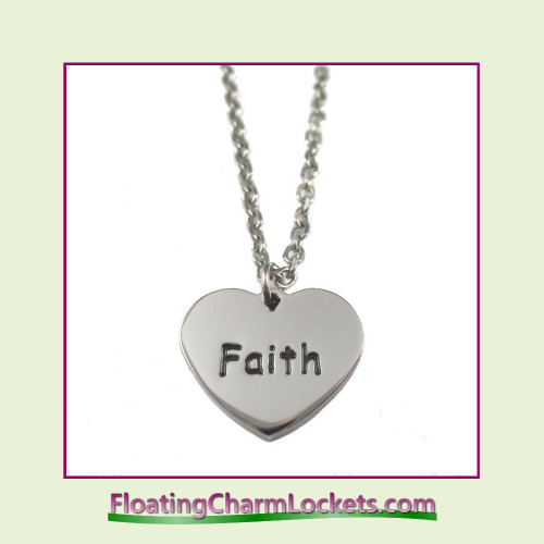 Stainless Steel Necklace - Faith