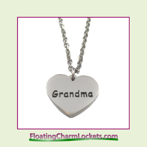 Stainless Steel Necklace - Grandma