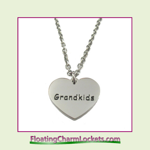 Stainless Steel Necklace - Grandkids