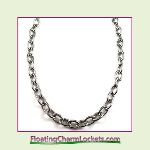 Stainless Steel Bracelet - 6mm Oval Link